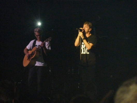 Matchbox Twenty performed their amazingly written songs.
