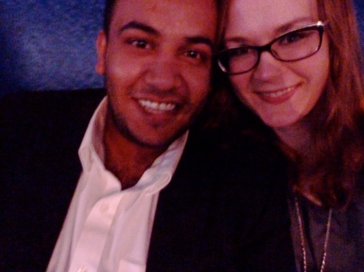 I love this guy and had a perfect night sharing his first concert and dancing in his arms.