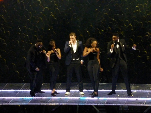 JT certainly showcased his dance moves as he belted out our favorite hits.