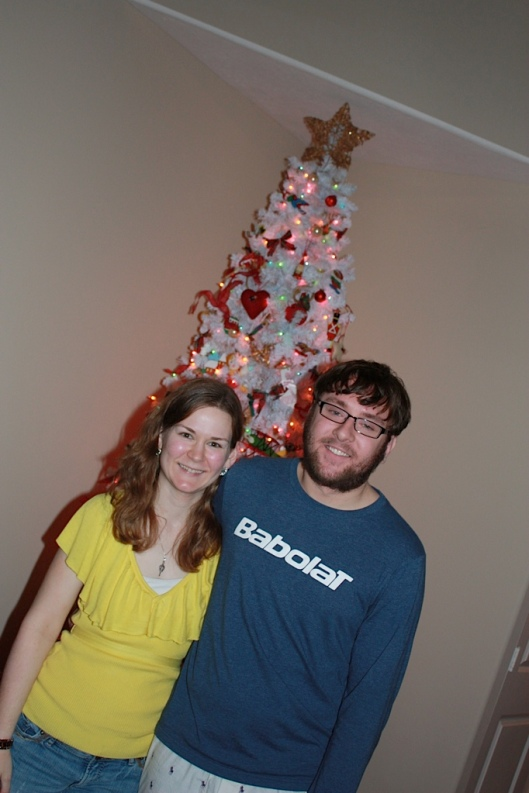 This actual Christmas was the first one I'd spent without my brother (aside from the two I had before he was born).